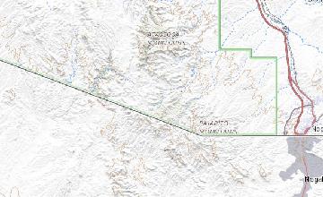 Ruby Arizona Map.Geologic Map Of The Pajarito Mountains Santa Cruz County Arizona