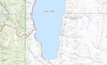 Geologic Map Of The Bear Lake South Quadrangle Rich County Utah