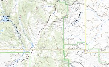 Counties Utah Map.Geologic Map Of The Geyser Peak Quadrangle Sevier And Wayne