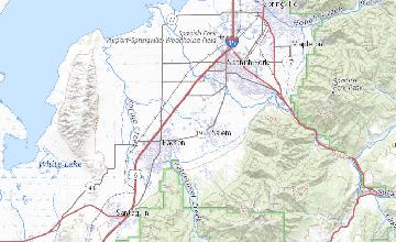 Geological Map Of Spain.Geologic Map Of The Spanish Fork Quadrangle Utah County Utah