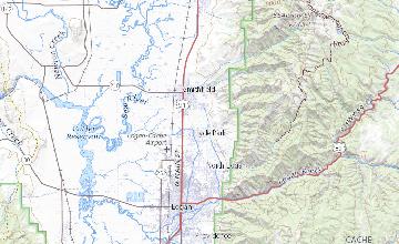 Provisional Geologic Map Of The Smithfield Quadrangle Cache County