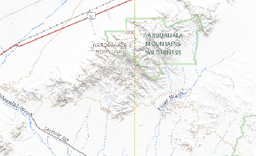 Geologic Map Of Arizona.Preliminary Geologic Map Of The Western Harquahala Mountains West
