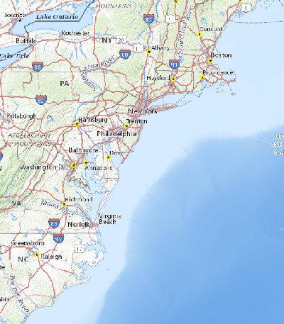 Search Results Sciencebase Sciencebase Catalog - Map-of-us-atlantic-coast