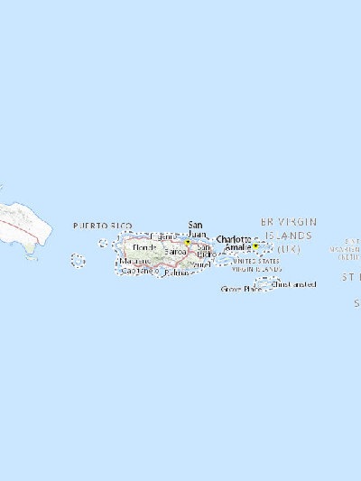 Search Results Sciencebase Sciencebase Catalog - Map-of-us-virgin-islands-and-puerto-rico