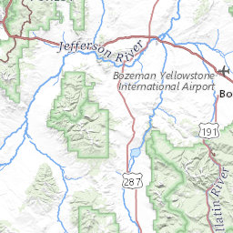 Snotel Montana Map.Weather Information Map Gallatin National Forest Avalanche Center