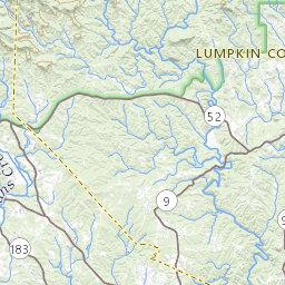 Lake Lanier Nav Map
