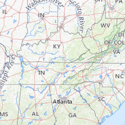 Michigan And Ohio Map.Michigan Ohio Current Water Conditions Usgs Gov