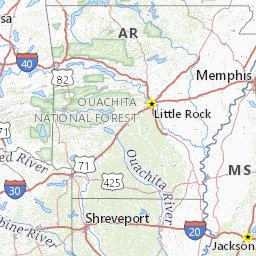 Arkansas Opportunity Zone Map