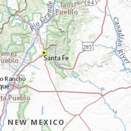 National Parks Arizona Map.Arizona Map Of National Parks Scenic Trails