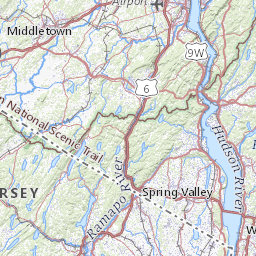 Hiking Trail Map For Northwest Connecticut And Litchfield Hills - Us-map-connecticut